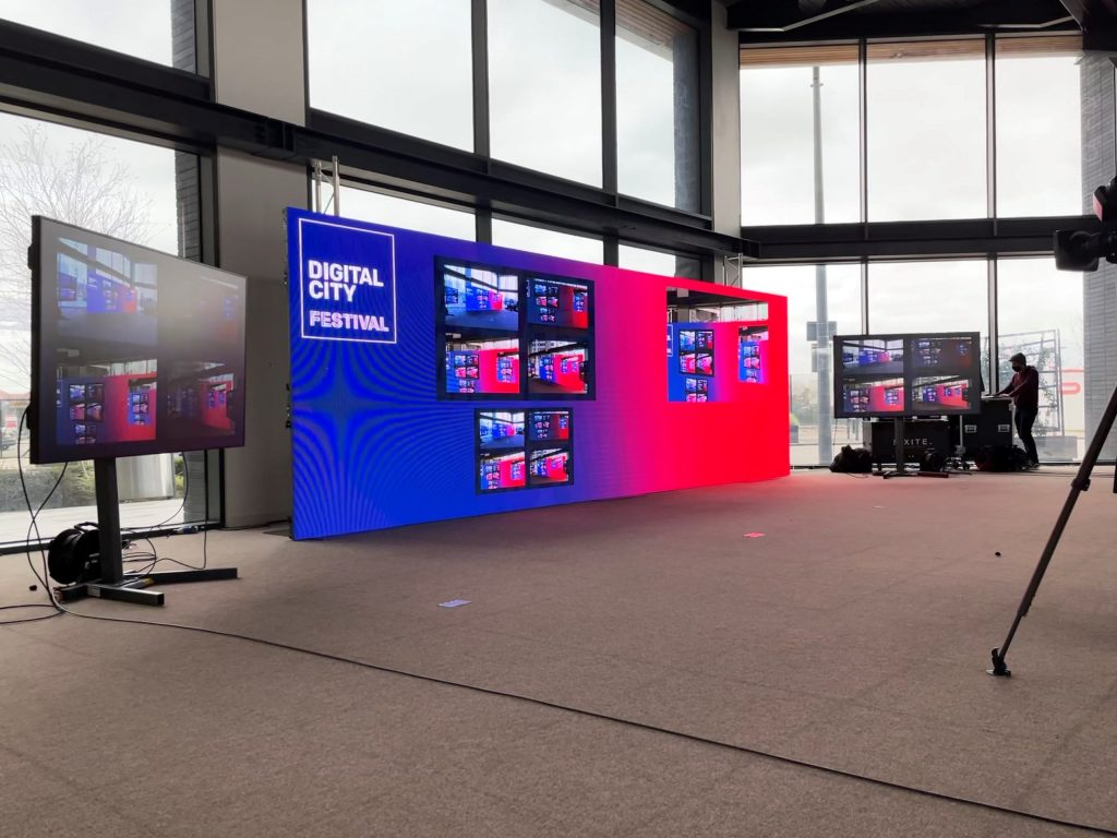 Pixite Digital City Festival LED Screen